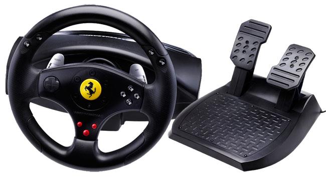 nakup thrustmaster ferrari gt experience racing wheel 3 in. Black Bedroom Furniture Sets. Home Design Ideas